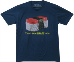 Image Closeup for Spam That's How Spam Rolls T-Shirt