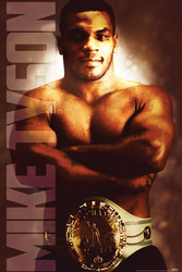 Image for Mike Tyson Poster - Heavyweight Champ
