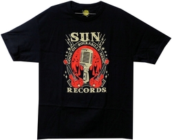 Image Closeup for Sun Records Rockabilly T-Shirt