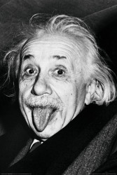 Image for Albert Einstein Poster - Face