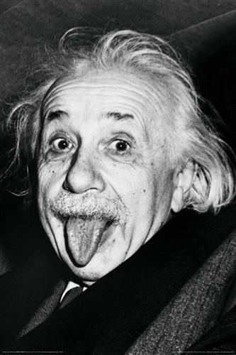 Image for Albert Einstein Poster - Face
