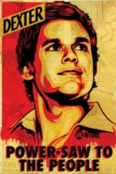 Dexter Poster - Power Saw to the People Mural