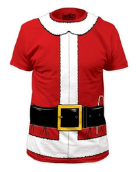Image Closeup for Santa Claus Costume T-Shirt