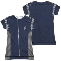 Image for Star Trek Discovery Girls T-Shirt - Sublimated Science Uniform