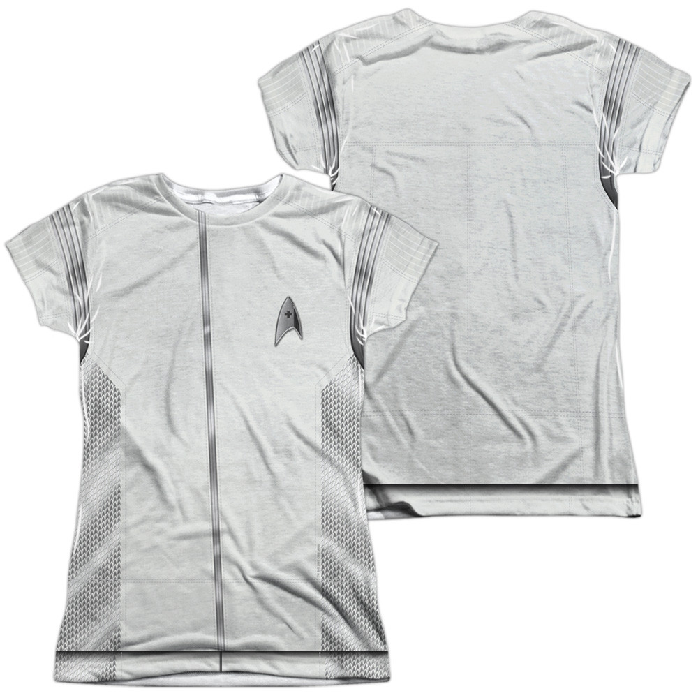 b36a283801d2 Star Trek Discovery Girls T-Shirt - Sublimated Medical Uniform ...