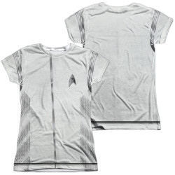 Image for Star Trek Discovery Girls T-Shirt - Sublimated Medical Uniform