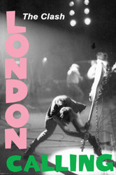 Image for The Clash Poster - London Calling