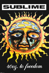 Image for Sublime Poster - 40 Oz. to Freedom