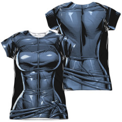 Image for Batman Girls T-Shirt - Sublimated Catwoman Uniform