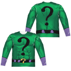 Image for Batman Sublimated Long Sleeve - Riddler Uniform