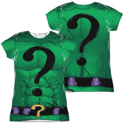 Image for Batman Girls T-Shirt - Sublimated Riddler Uniform