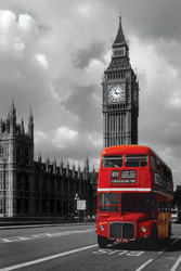 Image for London Poster - Red Bus