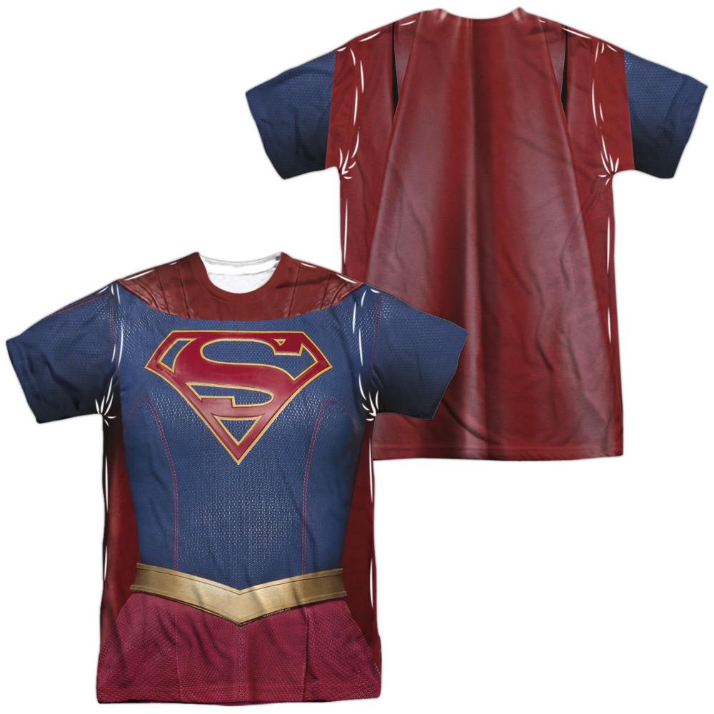 63981aee43ac1 Supergirl Sublimated T-Shirt - Uniform. Loading zoom
