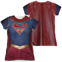 Image for Supergirl Girls T-Shirt - Sublimated Uniform