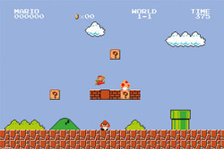Image for Super Mario Bros. Poster - Level 1-1