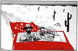 Image for Ralph Steadman Poster - Fear & Loathing In Las Vegas