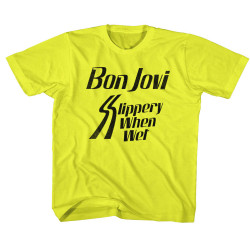 Image for Bon Jovi Slippery When Wets Toddler T-Shirt