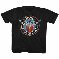 Image for Bon Jovi Bad Name Toddler T-Shirt