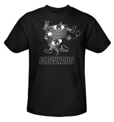Image Closeup for Clownado T-Shirt