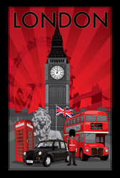 Image for London Poster