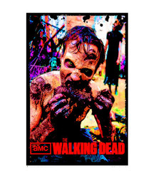 Image for The Walking Dead Walker Blacklight Poster