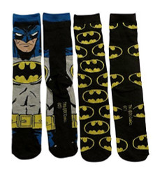 Image for Batman Grey Bats 2 Pack Socks