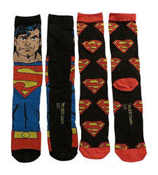 Image for Superman Blue Supes 2 Pack Socks