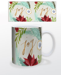 Image for Joy Poinsettia Coffee Mug