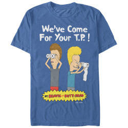 Image for Beavis and Butt-head Papers T-Shirt