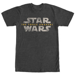 Image for Star Wars Force Logo Heather T-Shirt