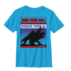 Image for Jurassic World Youth T-Shirt - Do Not Feed