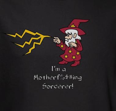 Image for I'm a Motherf%$#ing Sorcerer! T-Shirt
