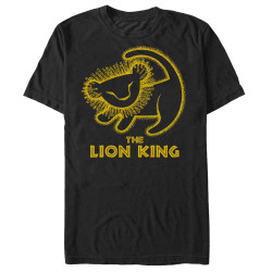 Image for The Lion King Stamp T-Shirt