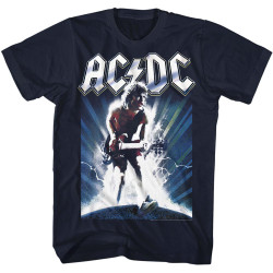 Image for AC/DC T-Shirt - Guitar Burst