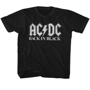 Image for AC/DC Back in Black Classic 2 Youth T-Shirt