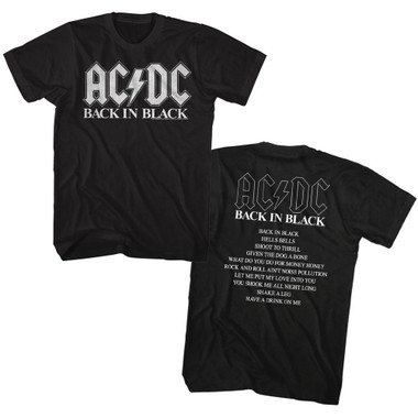 Image for AC/DC T-Shirt - BNB Album