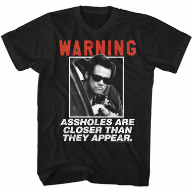 Image for Ace Ventura Pet Detective T-Shirt - Closer Than They Appear