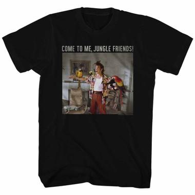 Image for Ace Ventura Pet Detective T-Shirt - Animal Friends