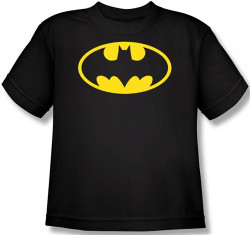 Image for Batman Youth T-Shirt - Traditional Logo