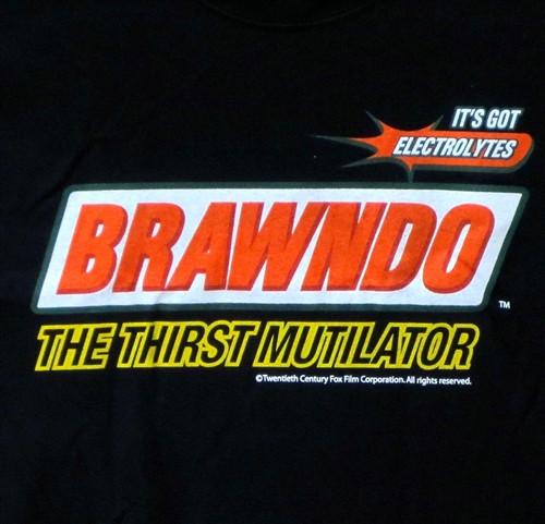 1689c88b Brawndo T-Shirt - the Thirst Mutilator Idiocracy - NerdKungfu