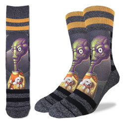Image for Alien Puppy Love Socks