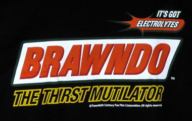 Image for Idiocrasy Brawndo the Thirst Mutilator Girls T-Shirt