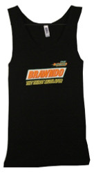 Image Closeup for Idiocrasy Brawndo the Thirst Mutilator Girls Tank Top