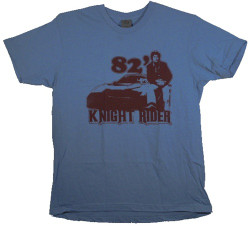 Image Closeup for Knight Rider '82 T-Shirt