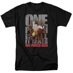 Image for One Punch Man T-Shirt - One Punch is All it Takes