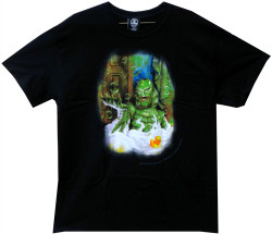 Image Closeup for The Creature from the Black Lagoon Bubble Bath T-Shirt