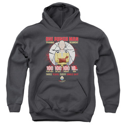 Image for One Punch Man Youth Hoodie - Training Regiment