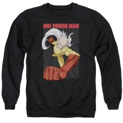 Image for One Punch Man Crewneck - Heroic Fist