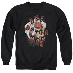 Image for One Punch Man Crewneck - One Punch Smash
