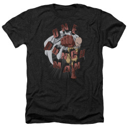 Image for One Punch Man Heather T-Shirt - One Punch Smash